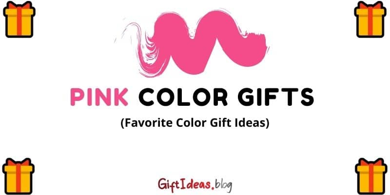 Pink color gifts